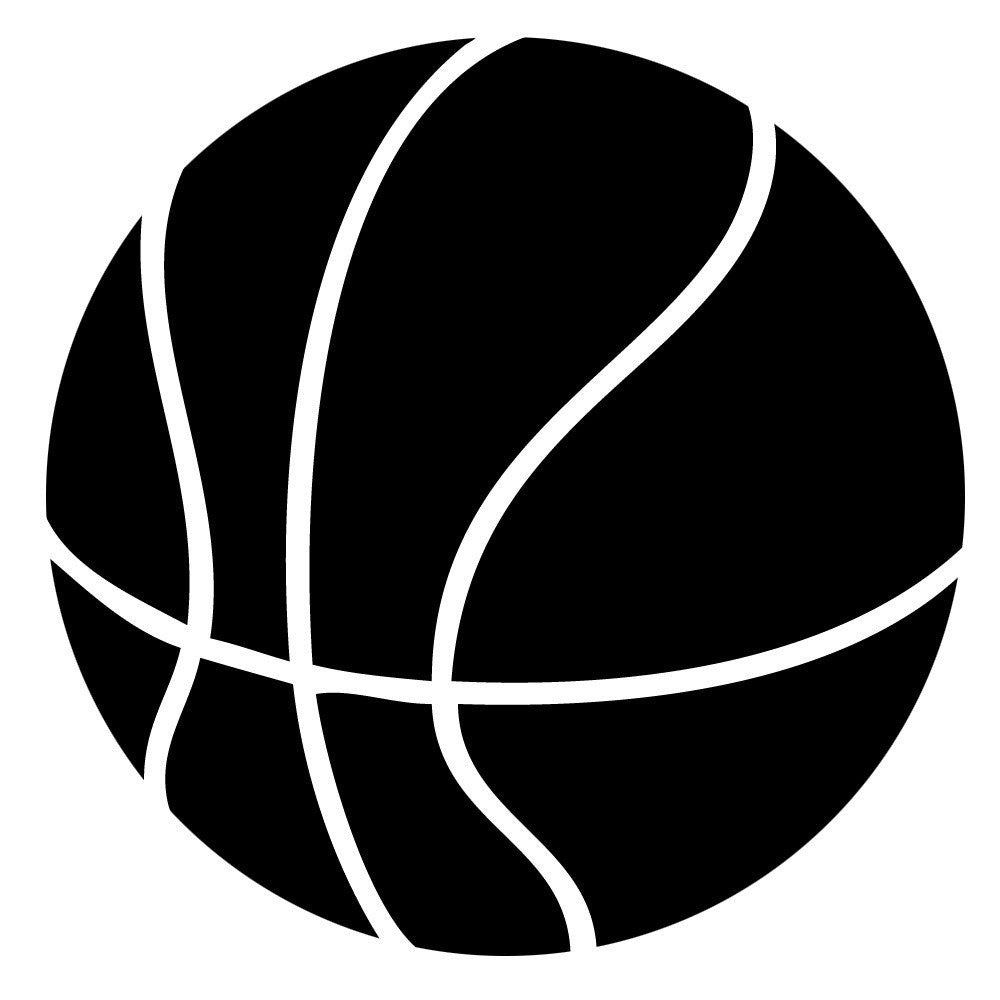 Basketball - Die Cut Vinyl Sticker Decal