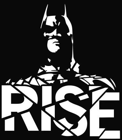 Batman, The Dark Knight Rises - Die Cut Vinyl Sticker Decal