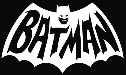 Batman logo  - Die Cut Vinyl Sticker Decal