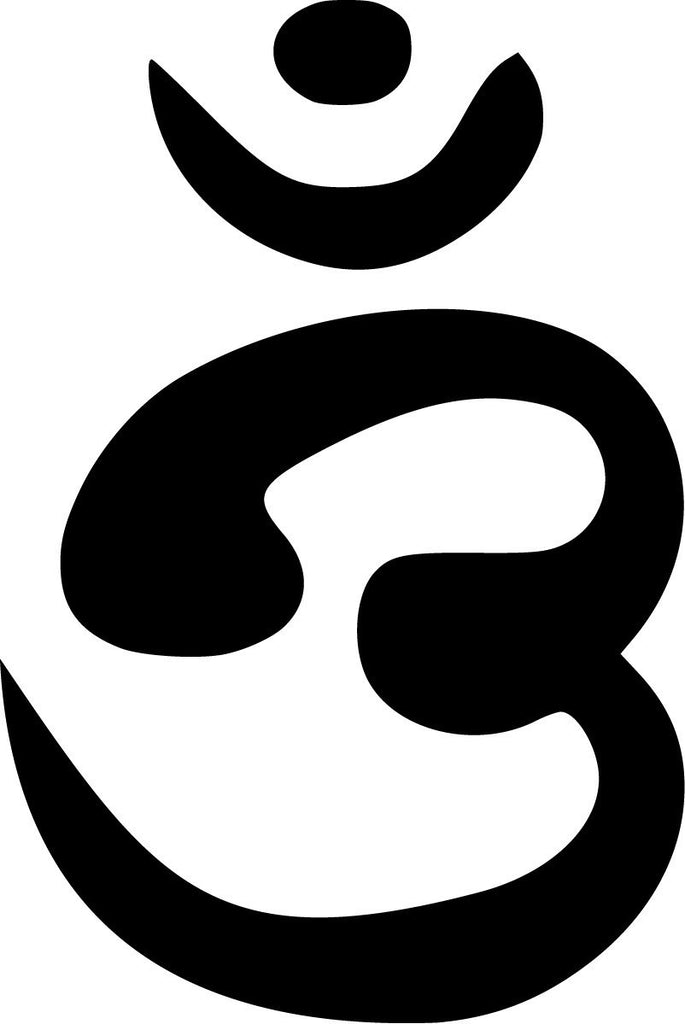 Bengali Aum, Om - Die Cut Vinyl Sticker Decal