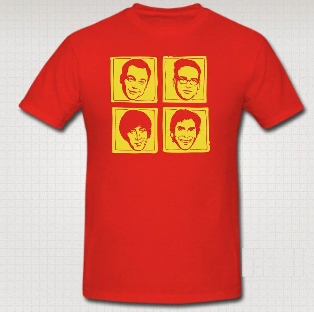 The Big Bang Theory Characters T-shirt