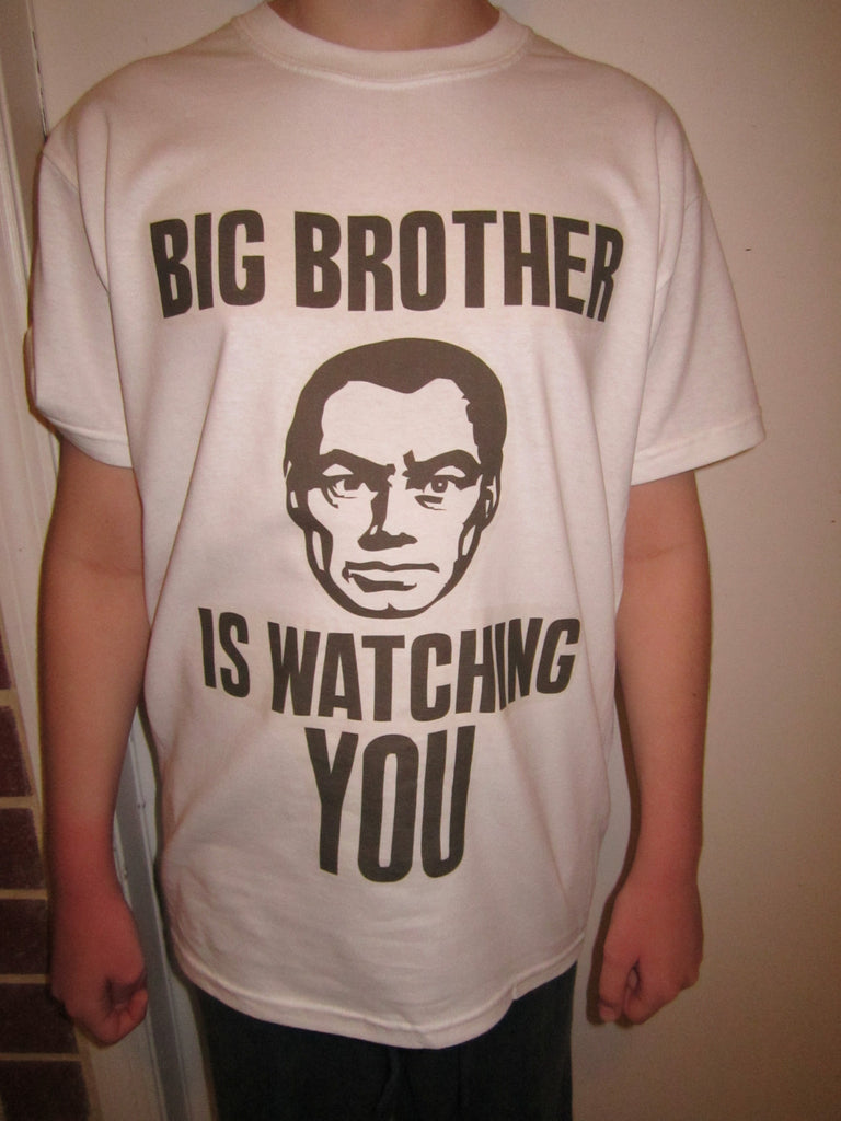 Big Brother is Watching You Punk Rock T-shirt
