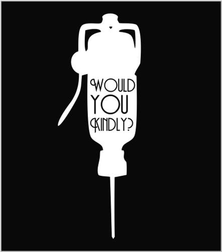 Would you kindly?, Bioshock - Die Cut Vinyl Sticker Decal