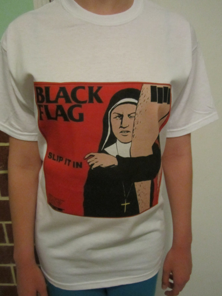 Black Flag Slip It In Punk Rock T-shirt