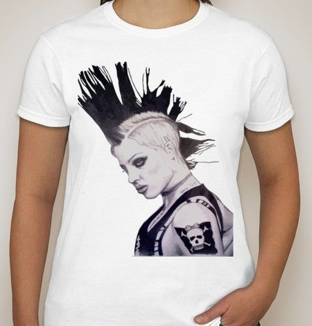 Brody Dalle Punk T-shirt | Blasted Rat