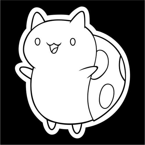 Catbug, Bravest Warriors - Die Cut Vinyl Sticker Decal