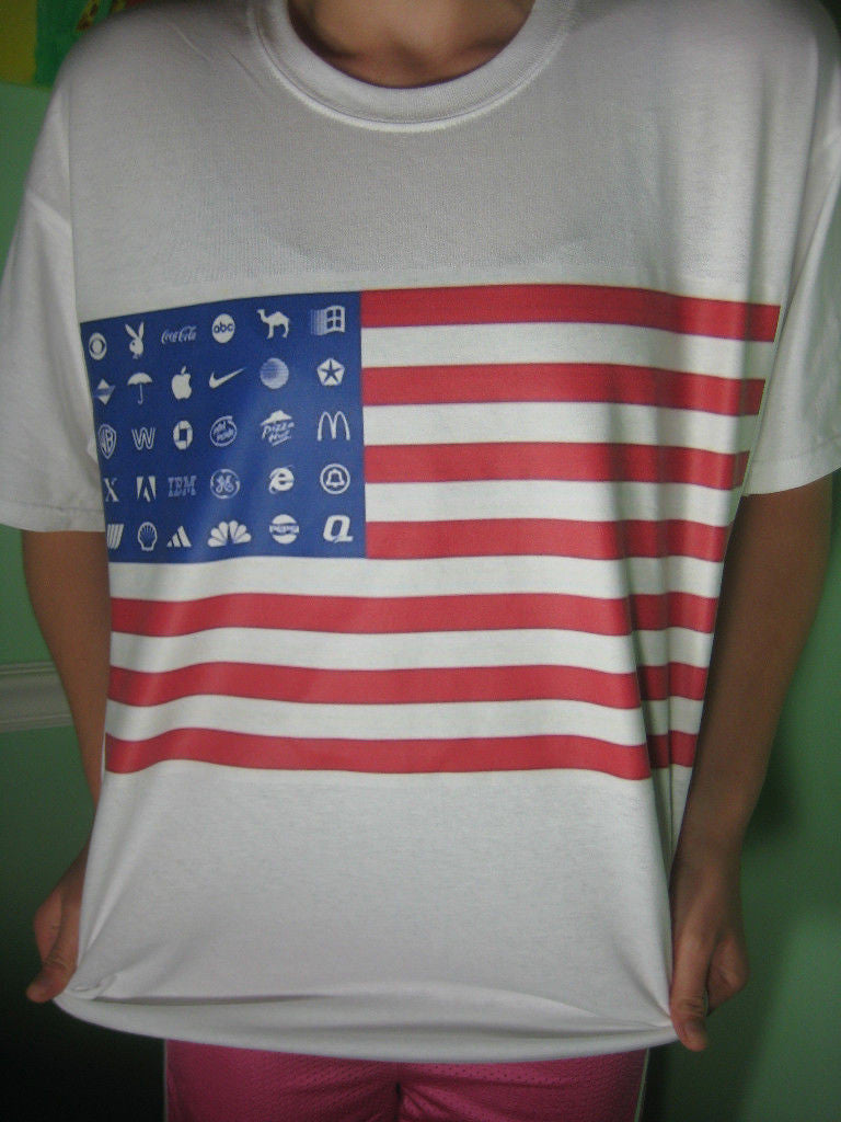 Corporate America Flag T-shirt