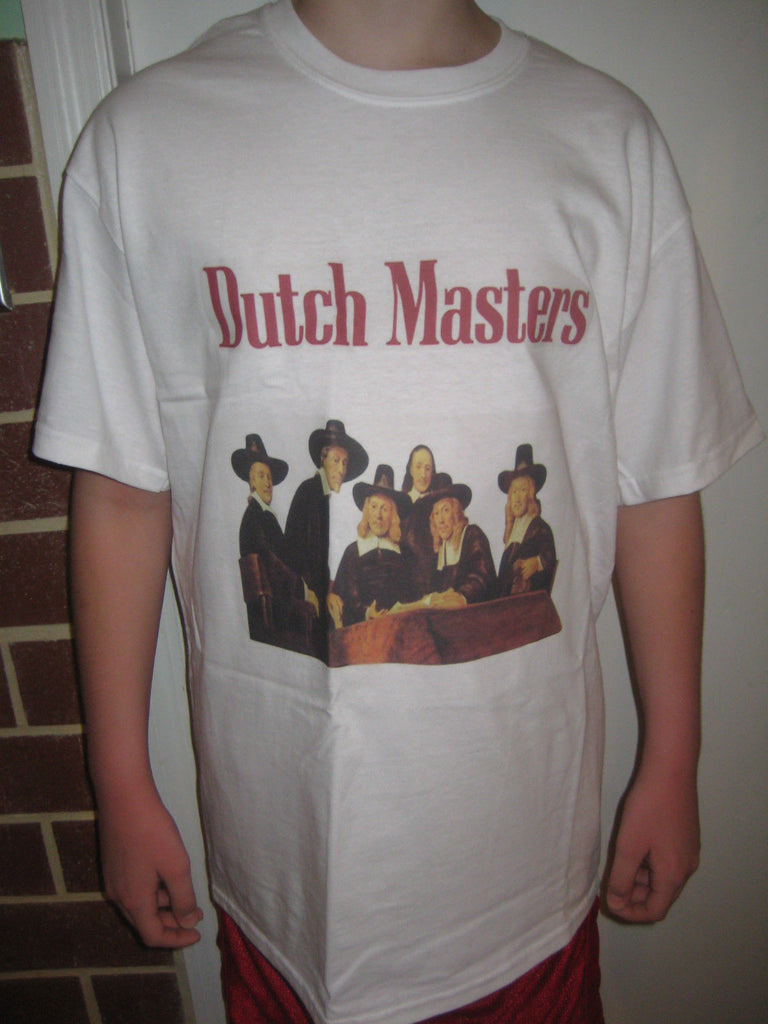 Dutch Master Cigars Blunts Dutchie 420 Marijuana Chronic Weed T-shirt