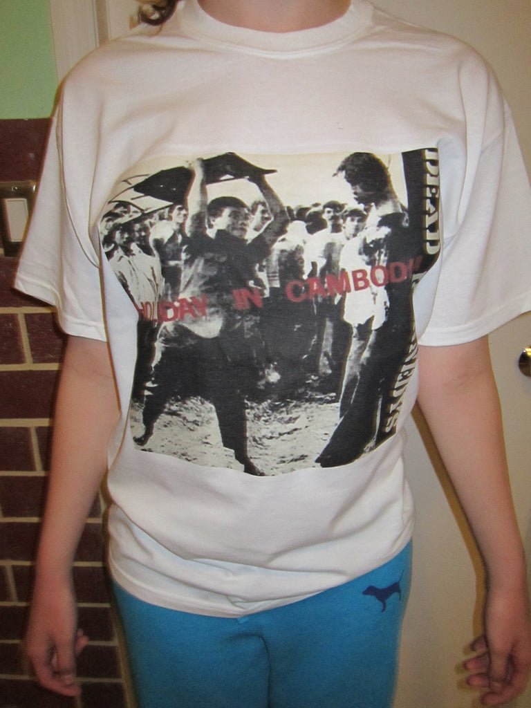 Dead Kennedys Holiday in Cambodia Punk Rock T-shirt
