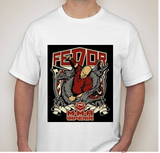 Fedor Emelianenko MMA Imperia T-shirt | Blasted Rat