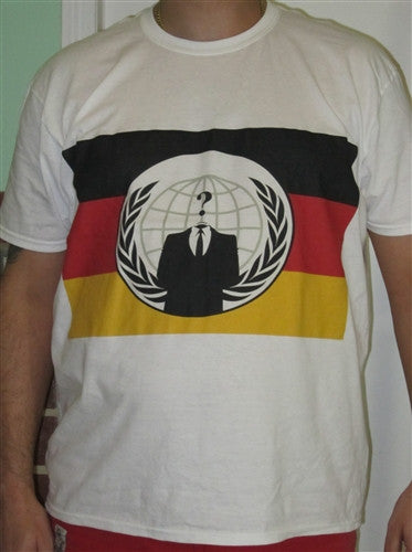 Anonymous Germany T-Shirt | Blasted Rat