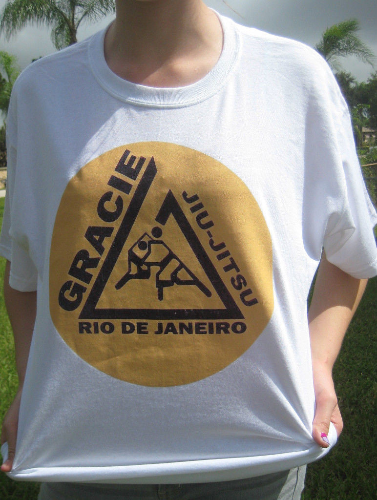Gracies Jiu Jitsu MMA BJJ T-shirt