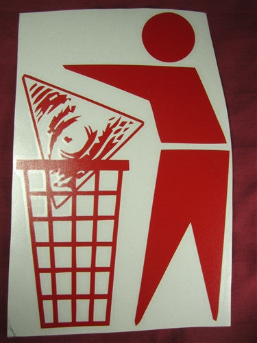 Illuminati Trash | Die Cut Vinyl Sticker Decal | Blasted Rat