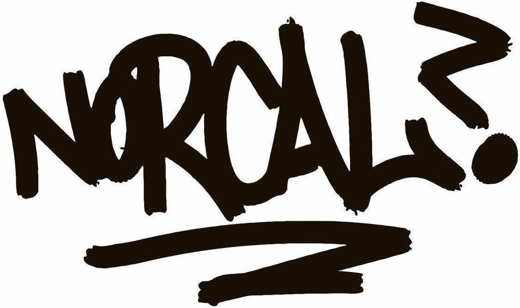 Norcal Hand Style Graffiti JDM Racing | Die Cut Vinyl Sticker Decal | Blasted Rat