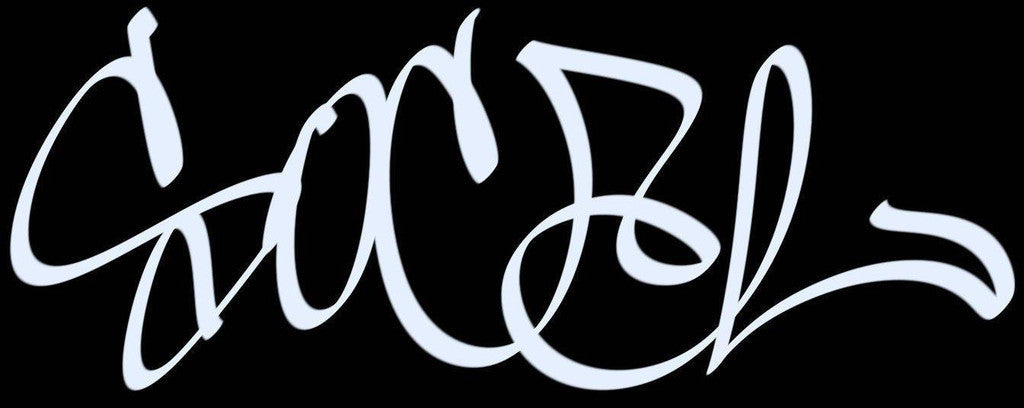 SoCal HandStyle Graffiti JDM Racing | Die Cut Vinyl Sticker Decal | Blasted Rat