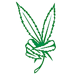 Cannabis Peace Leaves JDM Racing | Die Cut Vinyl Sticker Decal