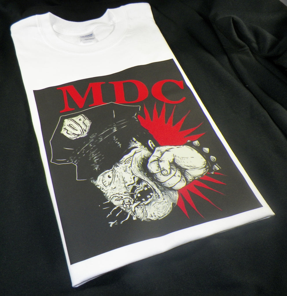 MDC Millions of Dead Cops T-shirt