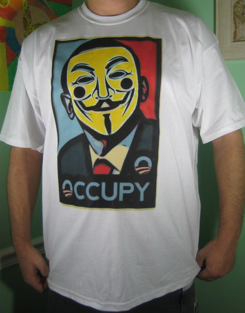 Obama Occupy T-shirt