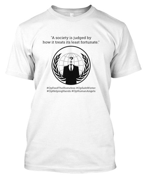 The Fifth Column #OPFeedTheHomeless #OPSafeWinter T-shirt