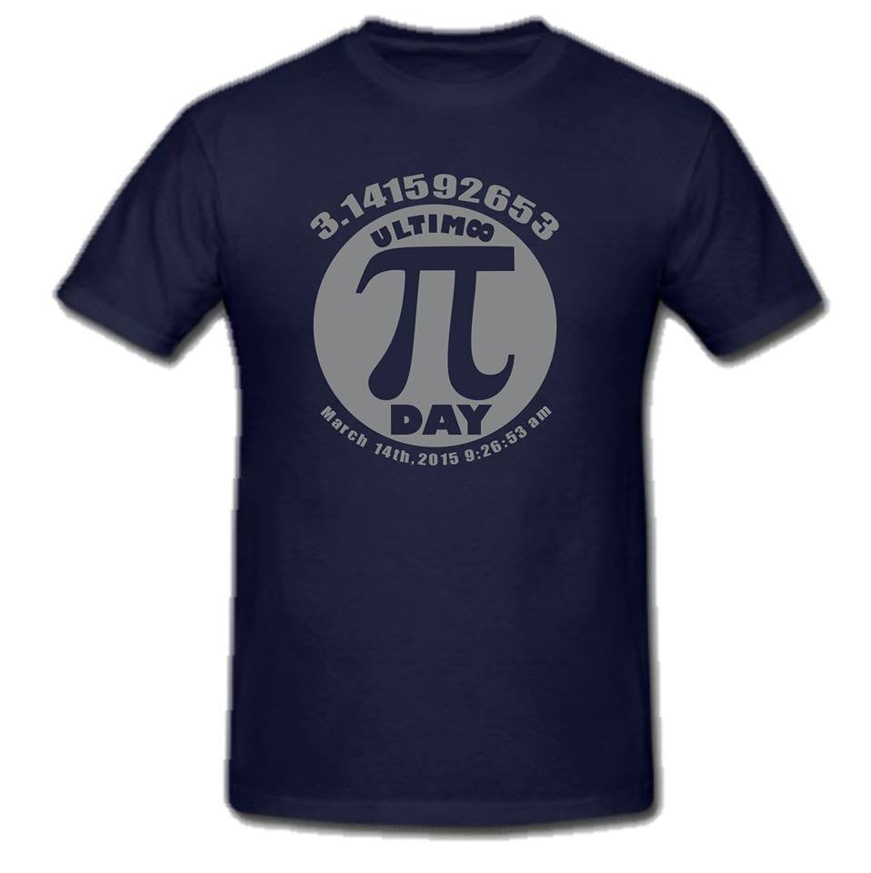 Pi Day π March 14 2015 Ultimate T-shirt | Blasted Rat