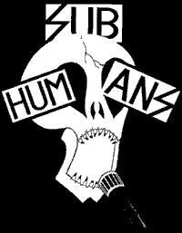 Subhumans Skull | Die Cut Vinyl Sticker Decal | Blasted Rat