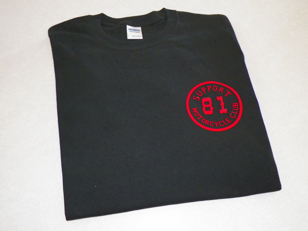 Support 81 Motorcycle Club Biker T-shirt