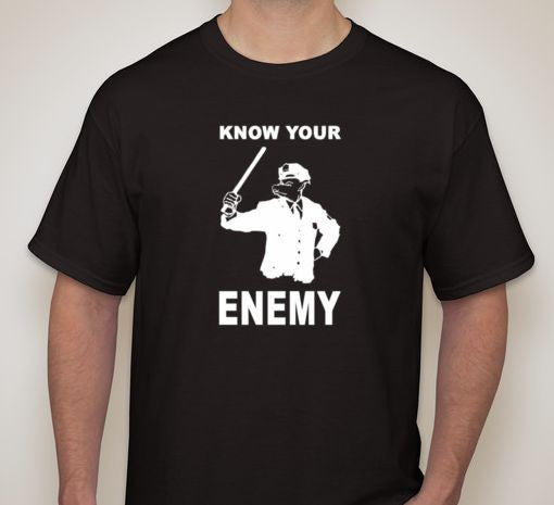 ACAB Know Your Enemy T-shirt