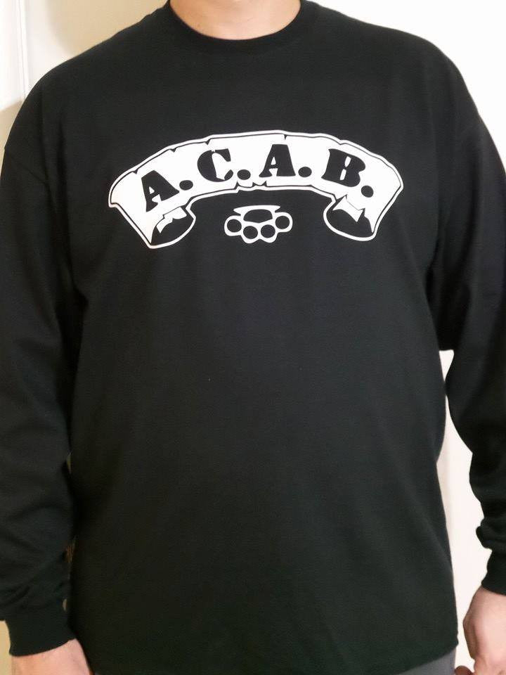 ACAB Long Sleeve T-shirt | Blasted Rat