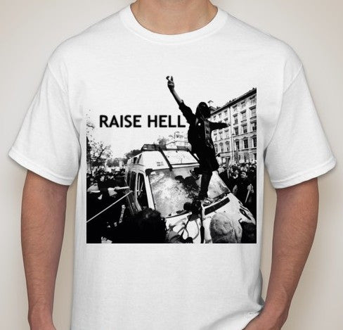 ACAB Raise Hell Riot T-shirt | Blasted Rat