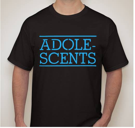 Adole Scents Punk Rock Band Music T-shirt | Blasted Rat