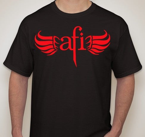 AFI A Fire Inside T-shirt | Blasted Rat