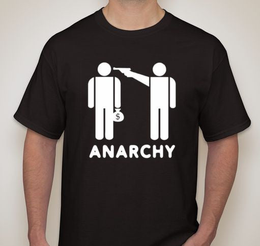 Anarchy Kill The Rich T-shirt
