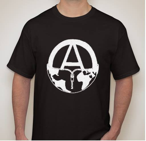 Anarchy On Earth T-shirt | Blasted Rat