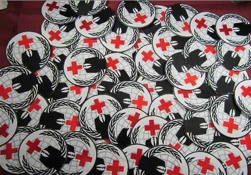 Anonymous Red Cross Street Medic Patch | Blasted Rat
