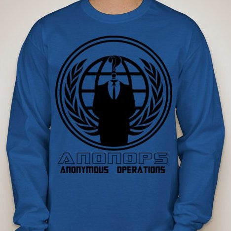 Anonymous Operations Long Sleeve T-shirt