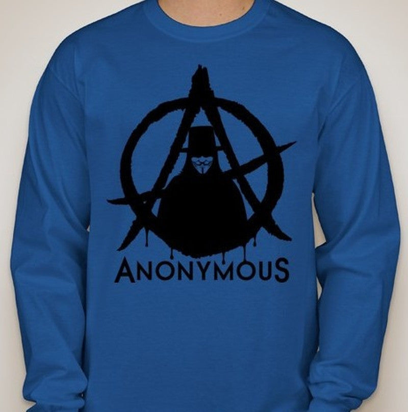 Anonymous Anarchy Long Sleeve T-shirt