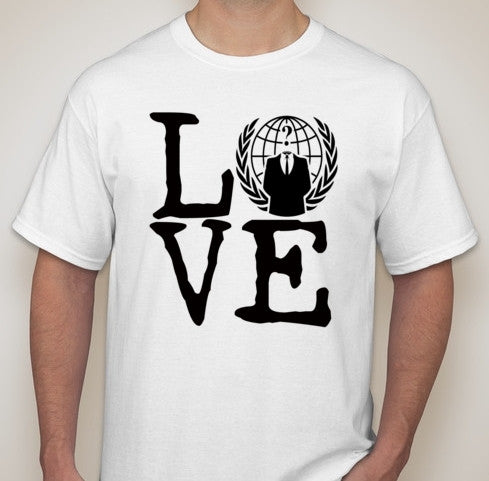 Anonymous Love With Crest T-shirt