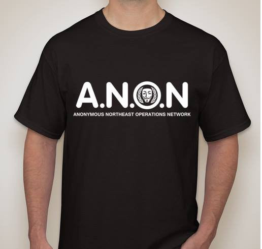 Anonymous Northeast Operations Network T-shirt