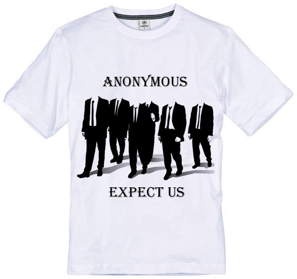 Anonymous Expect Us T-shirt | Blasted Rat