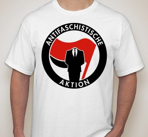 Antifaschistische Aktion T-shirt | Blasted Rat