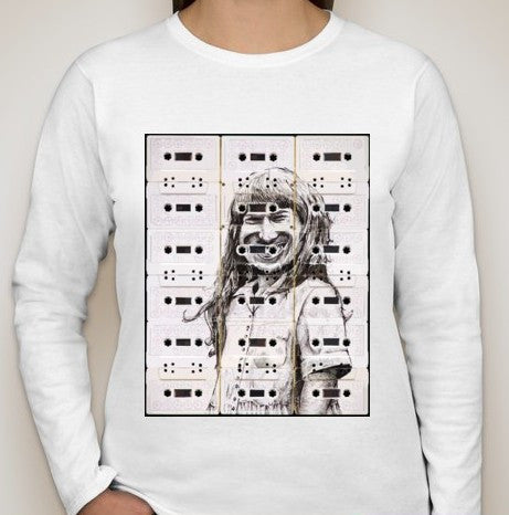 Aphex Twin Casette Tapes Women Long Sleeve T-shirt | Blasted Rat