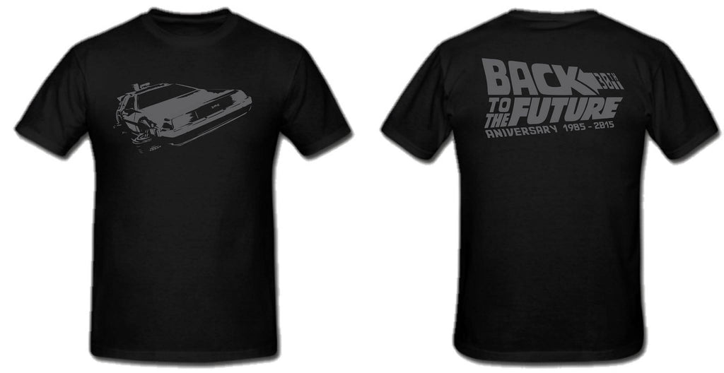 Back To The Future Movie 2015 Anniversary T-shirt  | Blasted Rat