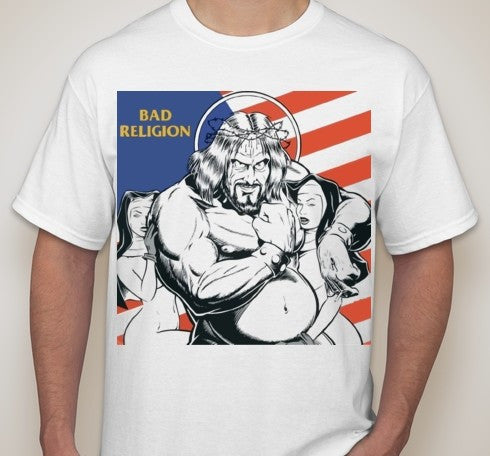 Bad Religion Jesus And Nuns T-shirt | Blasted Rat