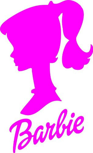 Barbie - Die Cut Vinyl Sticker Decal