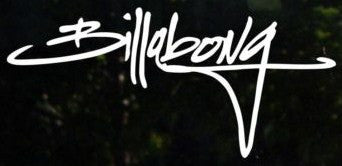 Billabong script - Die Cut Vinyl Sticker Decal