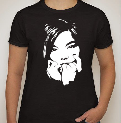 Björk Portrait T-shirt | Blasted Rat