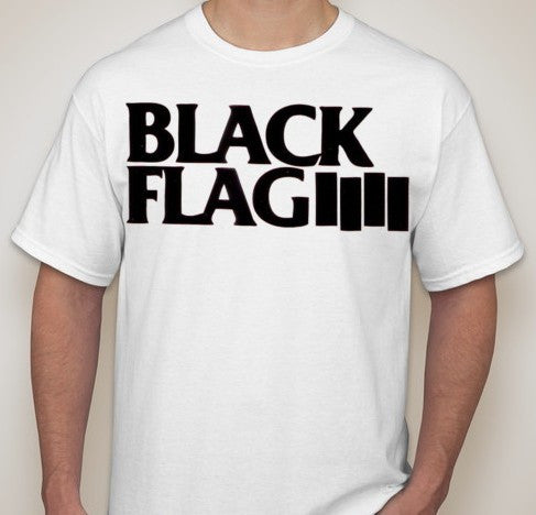 Black Flag Logo T-shirt | Blasted Rat
