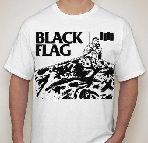 Black Flag Room T-shirt | Blasted Rat
