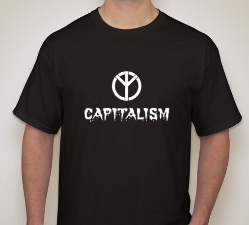 Capitalism Equals Fascism T-shirt