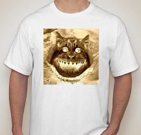 Cat Shark Attack #Caturday T-shirt | Blasted Rat